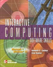 Interactive computing software skills by Kenneth C. Laudon