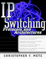 Cover of: IP Switching | Christopher Y. Metz