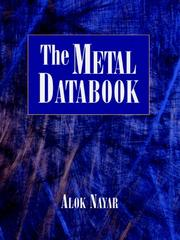 Cover of: The metals databook