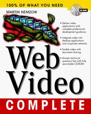 Cover of: Web video complete