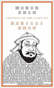 Cover of: TRAVELS IN THE LAND OF KUBILAI KHAN (GREAT IDEAS S.)