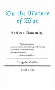 Cover of: ON THE NATURE OF WAR (GREAT IDEAS S.)