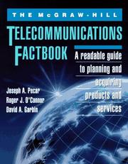 Cover of: The McGraw-Hill telecommunications factbook | Joseph A. Pecar