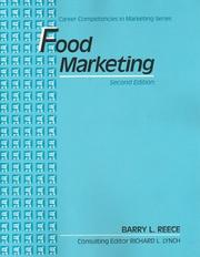 Cover of: Food marketing
