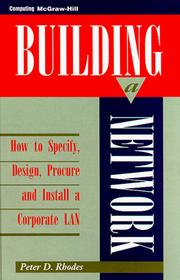 Cover of: Building a Network