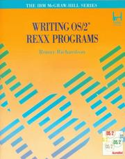 Cover of: Writing OS/2 REXX programs
