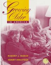 Cover of: Growing older in America