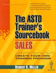 Cover of: The ASTD trainer