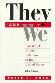 Cover of: They And We