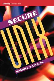 Cover of: Secure UNIX