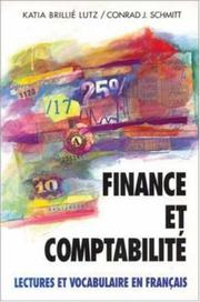 Cover of: Finance Et Comptabilite | Conrad J. Schmitt