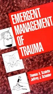 Cover of: Emergent management of trauma