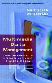 Cover of: Multimedia data management |