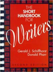 Cover of: The short handbook for writers