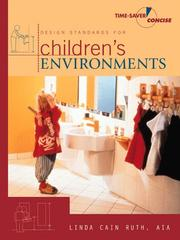 Design standards for children's environments by Linda Cain Ruth