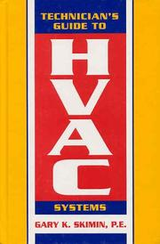 Cover of: Technician's guide to HVAC systems