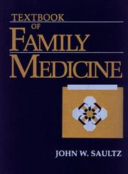 Cover of: Textbook of Family Medicine | John W. Saultz M.D.