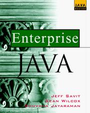 Cover of: Enterprise Java