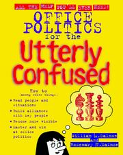 Cover of: Office politics for the utterly confused | Rosemary Salmon