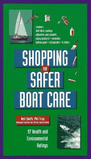 Cover of: Shopping for safer boat care