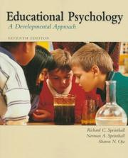 Cover of: Educational psychology | Richard C. Sprinthall