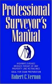 Cover of: Professional surveyor