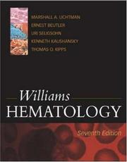 Cover of: Williams hematology