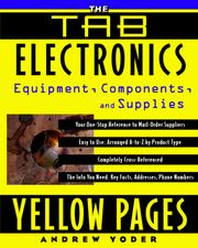 Cover of: The TAB Electronics Yellow Pages | Andrew R. Yoder