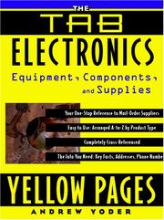 Cover of: The TAB Electronics Yellow Pages