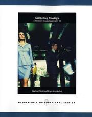 Cover of: Marketing Strategy | Walker