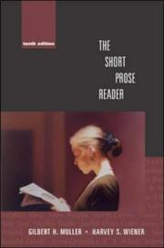 Cover of: The short prose reader