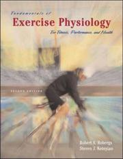 Cover of: Fundamentals of Exercise Physiology | Robert Robergs