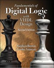 Cover of: Fundamentals of Digital Logic | Stephen Brown