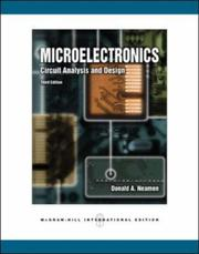 Cover of: Microelectronics | Donald Neamen