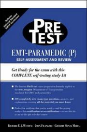 Cover of: EMT-Paramedic (P)  PreTest Self Assessment and Review