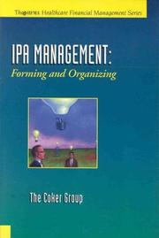 Cover of: IPA management