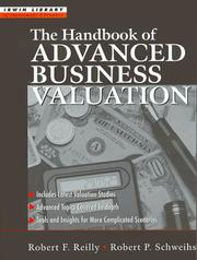 Cover of: The Handbook of Advanced Business Valuation