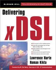 Cover of: Delivering xDSL