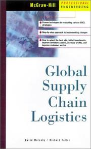 Cover of: Global supply chain logistics