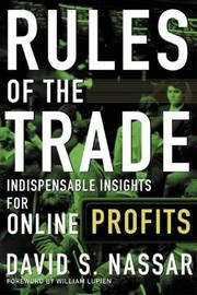 Cover of: Rules of The Trade