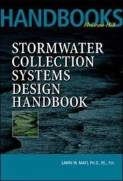 Cover of: Stormwater Collection Systems Design Handbook