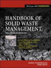 Cover of: Handbook of Solid Waste  Management