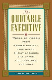 Cover of: The quotable executive |