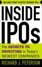 Cover of: Inside IPO's