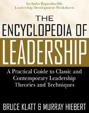 Cover of: The encyclopedia of leadership