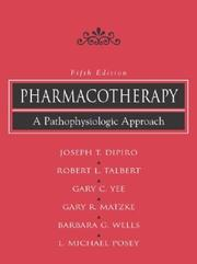 Cover of: Pharmacotherapy |