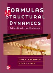 Cover of: Formulas for Structural Dynamics | Olga Lebed