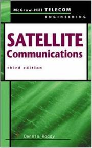 Cover of: Satellite Communications | Dennis Roddy