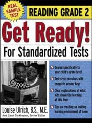 Cover of: Get Ready! For Standardized Tests  | Louise Ulrich
