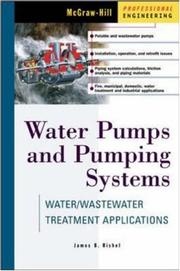 Cover of: Water Pumps and Pumping Systems